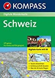 Schweiz: Digitale Wanderkarte. GPS-genau (KOMPASS Digitale Karten, Band 4312)