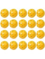 RHX - RHX Pop 20 piezas de plástico hueco perforado Golf Tenis Práctica Formativa Bolas de los deportes