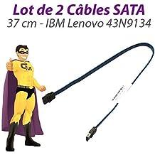 Set 2Cavi SATA IBM Lenovo FRU 43N9134ThinkCentre M58USFF 37cm Blu