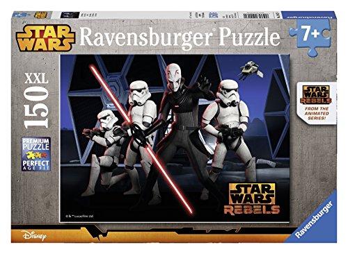 Ravensburger 10017 - Star Wars Puzzle, 150 Pezzi, Cartone