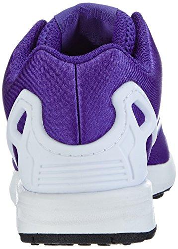 adidas ZX Flux, Unisex-Erwachsene Sneakers Blau (Night Flash S15/Core Schwarz)
