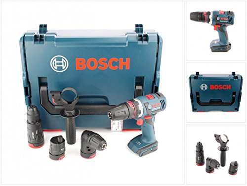 Preisvergleich Produktbild Bosch GSR 18 V-EC FC2 Akku Bohrschrauber in L-Boxx mit Bohrfutter GFA GEA GWA GHA FC2