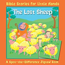 The Lost Sheep: A Spot-the-Difference Jigsaw Book