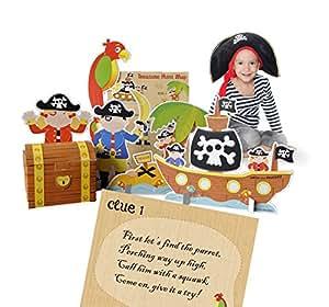 Pirate Treasure Hunt Party Game