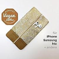 iPhone-Tasche Champagne Blush / Handytasche / Smartphone Case / Vegane Handytasche / Vegane Accessoires / Geschenk zum Muttertag