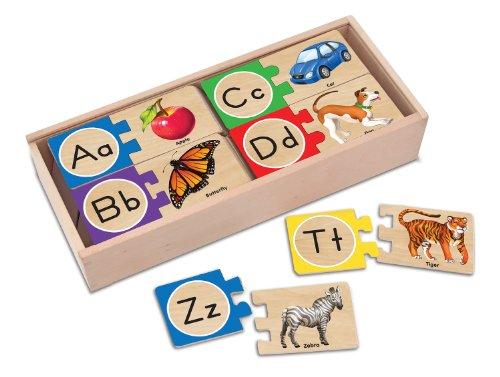 (Melissa Und Doug Alphabet-puzzle)