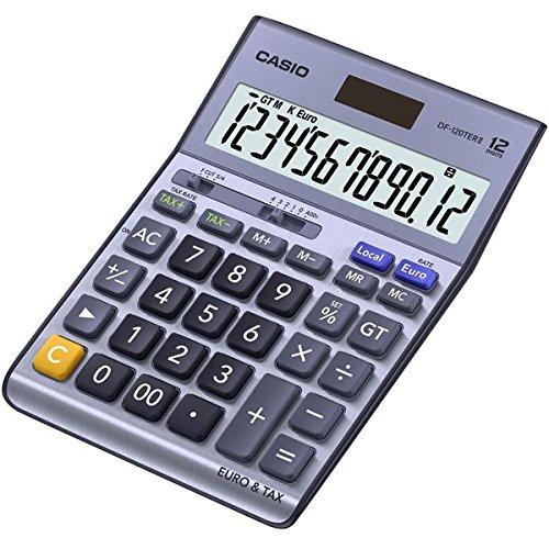 Casio DF-120TER Calculatrice financière 12 chiffres