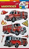 Trötsch Wandsticker Feuerwehr