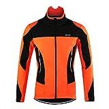 M.Baxter Fahrradbekleidung Herbst Winter Fahrrad Trikot Regenjacke Wasserdicht Winddicht Atmungsaktiv Warm Fleece Jacke
