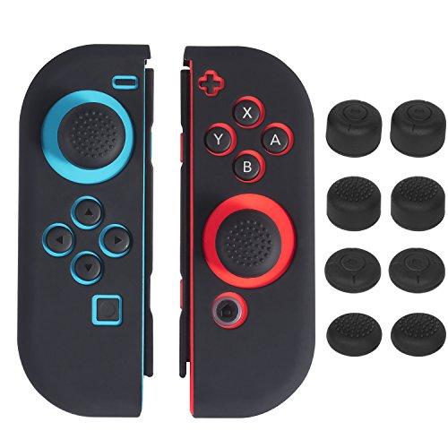 Nintendo Switch Joy Con Silicona Funda, Keten Protector Carcasa Antide