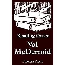 Val McDermid - Reading Order Book - Complete Series Companion Checklist (English Edition)