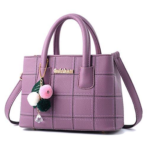 Dame Fashion Damen Tasche Handtasche Messenger Bag Umhängetasche Temperament Korean Version Casual C
