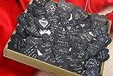 30x Schieferherzen Gästebuch zur Hochzeit – handgefertigtes Komplettset ink. Edding – Hochzeitsgästebuch aus individuellen und personalisierten Schieferherzen – Hochzeitsspiel und Hochzeitsgeschenk in Einem