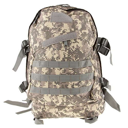 3D 40l Wasserdichter Taktischer Militärischer Rucksack Tasche Wanderrucksack Outdoor Reisen ACU