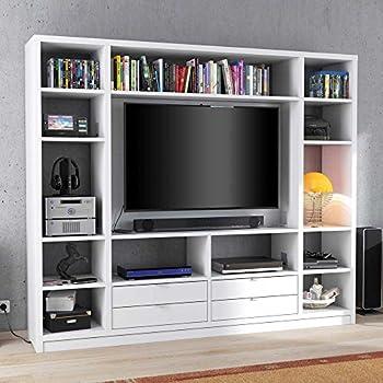 lifestyle4living Raumteiler in weiß mit 10 offenen Fächern