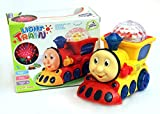 #1: Little Grin 3D Cartoon Train Toy With Lights & Music Gift For Kids(Color May Vary)