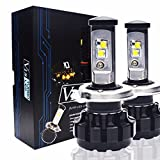 Keewors V18 LED Headlight Bulbs H4 (9003 Hi/Low) -7,200Lm...