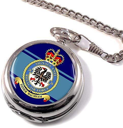 Numéro 26 Signals Unit Royal Air Force (RAF) Montre de Poche