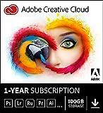 Adobe Creative Cloud All Apps | 1 Year Licence | PC/Mac |...