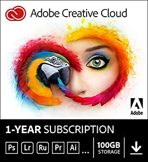 Adobe Creative Cloud All Apps | 1 Year | PC/Mac | Download (B00E3J2SNG) | Amazon Products