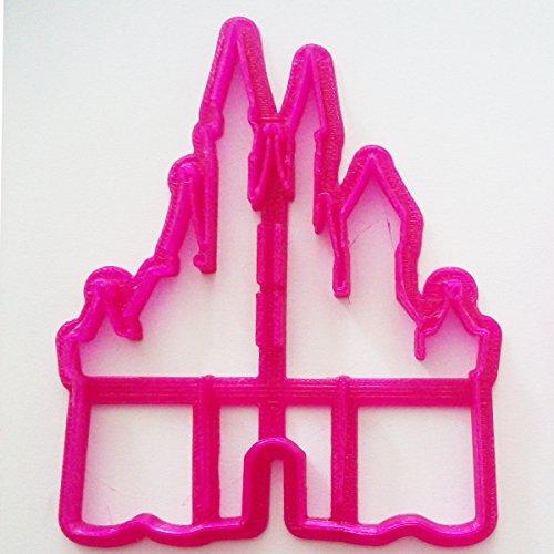 Cake Craft City Emporte-pièce pour biscuits/décoration de gâteau en forme de château de princesse -
