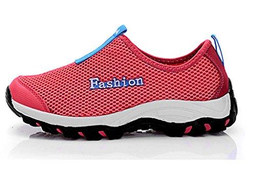 Fangsto  Sneakers,  Unisex Erwachsene Sneaker Low-Tops Rot