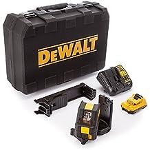DeWalt DCE088D1G-QW - Láser autonivelante de 2 líneas en cruz (Horizontal y vertical) - Incluye batería DW 10,8V Litio - VERDE