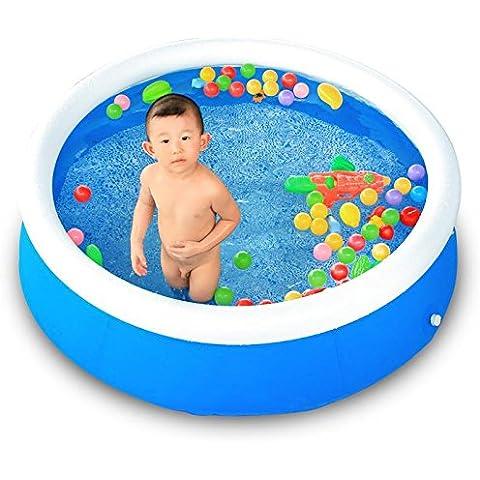 LIVY Piscina gonfiabile per piscina famiglia infantile bambini ball pool di oceano piscina giocare disco piscina