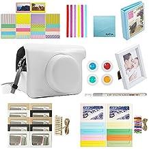 Instantánea Cámara Digital Bundle Accesorios para Fujifilm Instax Wide 300 (caja de la cámara Instax 300 + + marco de la foto Álbumes de fotos + Border Sticker + Marcos colgantes + 4 colores cerca del objetivo de la esquina + Pegatina + Pen) - Blanco