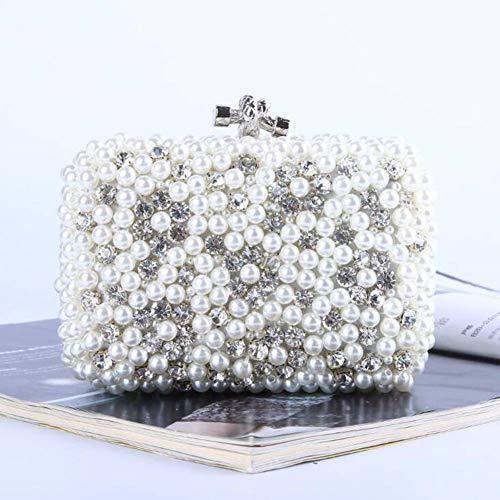 ASDF In Europa und Amerika Hand Pearl Handtasche - Paket MIT perlen Bestickt, Frau Pack - Abend Tasche prominente - Hand Perlen Abend Handtasche