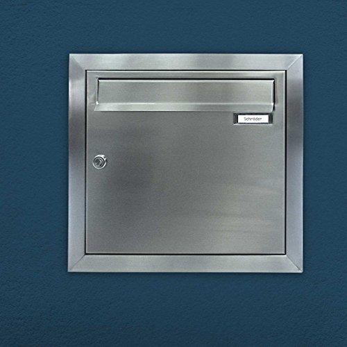 Unterputz Briefkasten Edelstahl - 2