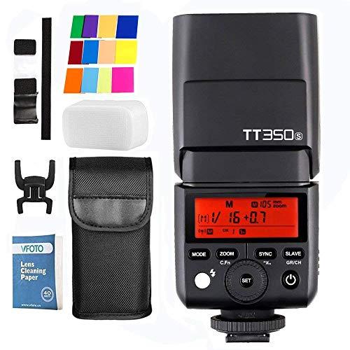 Godox ThinkLite TT350S 2.4G HSS 1/8000s cámara Flash TTL II GN60Flash Speedlite para Sony A7R A7S A7R A7S A7S II II A6300A6000Cámara réflex Digital