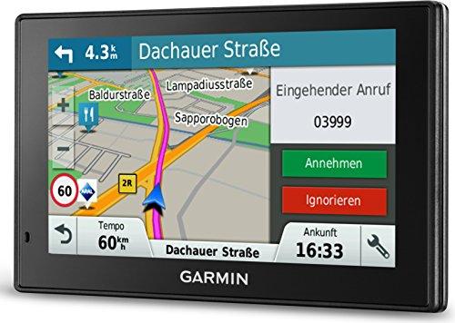 Garmin DriveSmart 50 LMT-D EU Navigationsgerät (12,7cm (5 Zoll) Touch-Glasdisplay, lebenslange Kartenupdates, Verkehrsfunklizenz, Sprachsteuerung) - 3