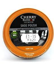 Cherry Blossom - Cirage à chaussures brun clair