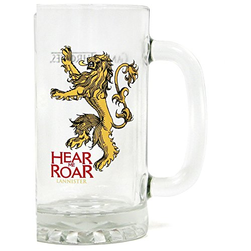 Star Bilder Game of Thrones Stein Glas Hear Me Roar Lannister Action Figur