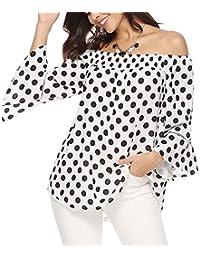 4eed3e4b10971 Amazon.es  4 estrellas y más - Blusas y camisas   Camisetas