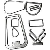 DIPOLA Stencil Set|Stencil Plantillas de Marca registrada de Plástico Reutilizables para Diario,Pintura