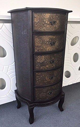 Home cassettiera stile orientale cinese cassettiera armadio comodino mobili, delizie tall slim 5