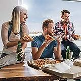 liuxi9836 Pizza Peels, espátula grande para pala de pizza con mango plegable: perfecto para hornos de pizza en el hogar y al aire libre, parrilla o barbacoa tremendous