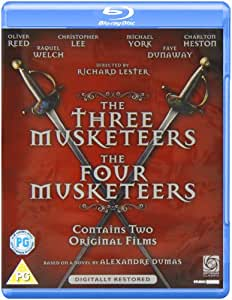The Three Musketeers / The Four Musketeers (Double Pack) [Blu-ray] [Region Free]