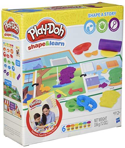 Play-Doh Form und Lernen, Form A Geschichte (Toy Mädchen Story Zeichen)