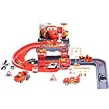 #2: Racing Track Parking Garage For Kids Toy 29 PCs