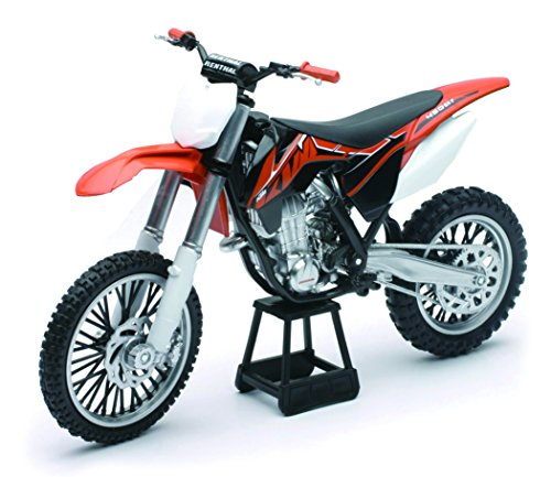 New Ray - 57623 - Véhicule Miniature - Modèle À L'échelle - Moto Cross Ktm Sxf 450 - Echelle 1/12