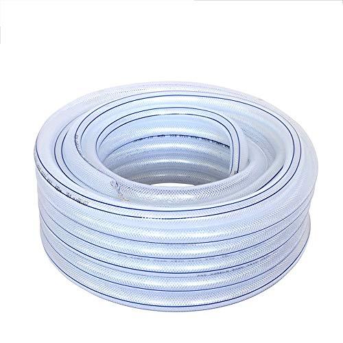 Gartenschläuche PVC Kunststoff Haushalt Landwirtschaft Gartenbewässerung Wasserleitung -10 ° C Frostschutzmittel Vier Jahreszeiten Weich Und Ungiftig (Color : Inner Diameter 16mm, Size : 30M) (Frostschutzmittel Ungiftig)