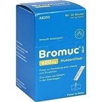 BROMUC akut 600 mg Hustenlöser Plv. z. H. e. L. z. Einn. 20 St preisvergleich bei billige-tabletten.eu