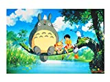 CoolChange puzzle di Totoro, motivo: Totoro al fiume