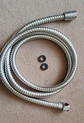 Tuyau flexible de douche en acier inoxydable flexible hose 150 cm-certifié tÜV autorisation