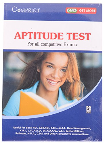 APTITUDE TEST FOR ALL COMPETITIVE EXAMS DVD COMPRINT