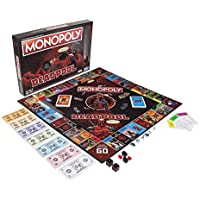 Hasbro Gaming e2033102 Marvel Deadpool Edition Monopoly Spiel