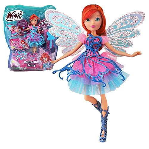 Winx Club - Butterflix Fairy Puppe - Fee Bloom magisches Gewand